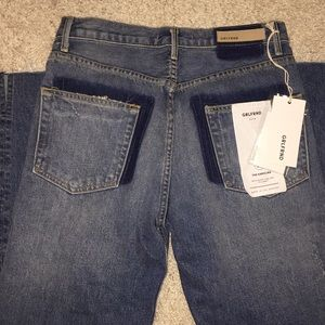 Sold ❗️NWT GRLFRND The Karolina High Rise Jeans 27